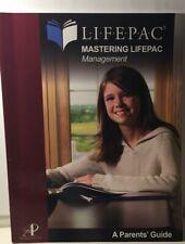 ISBN 978-0-86717-289-8 Life PAC Management - A Parents' Guide