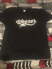 Weezer band size 2Xl 2017 tour black t shirt new without tags