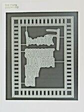 Simon Says Stamp Grid Frame Wafer Die Set, SSSD111772, Retired