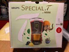 Krups Spécial T Machine à Thé Mini T Théière Electrique à Capsules Rouge NEUVE