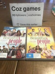 Beautiful People Series 1 + 2 Rare Australian Release DVD's British Comedy Drama