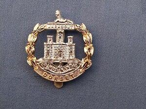 Staybright/Anodised.The Dorsetshire Regiment cap badge.