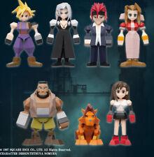 Final Fantasy 7 Polygon Figure Sealed Box Of 8 New Mint