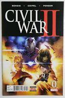 🔥 CIVIL WAR 2 #0 1ST PRINT HIGH GRADE MARVEL THANOS 1 AVENGERS ENDGAME