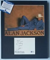 ALAN JACKSON SIGNED PHOTO BECKETT BAS COA BGS AUTOGRAPHED COUNTRY MUSIC SINGER