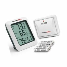 ThermoPro TP-60S Digital Hygrometer Indoor Outdoor Thermometer Humidity Monitor,