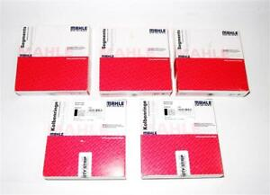 5x Coated Piston Rings MAHLE 81mm VW T5 2,5 Tdi Bnz Multivan Transporter