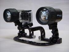 1100 Lumen, Twin Light, Universal Underwater Camera Tray    MADE IN THE USA