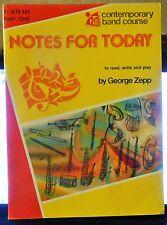 Eb Alto Sax - Contemporary Band Course - Music Book 1
