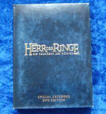 Der Herr der Ringe Die Rückkehr des Königs Special Extended Edition, 4 DVD Box