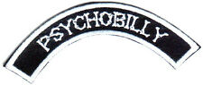 PSYCHOBILLY PUNK ROCK BIKER Embroided Iron on Patches