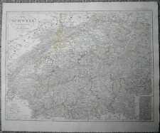 1848 Stieler map SWITZERLAND (#32)
