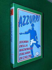 2 VHS - STORIA DELLA NAZIONALE ITALIANA CALCIO , AZZURRI 3 (1974-1990)