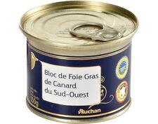 FOIE GRAS BLOC de CANARD - du Sud-Ouest 150G  FRENCH GOURMET 3-4 Servings