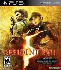 PS3 GAME RESIDENT EVIL 5 GOLD MOVE EDITION BRAND NEW
