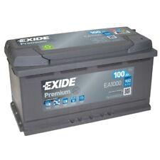 EXIDE EA1000 Starterbatterie PREMIUM Fußraum , Kofferraum , links