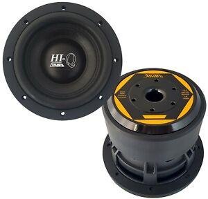 """PROMO SALE!  SAVARD Speakers Hi-Q Series 6.5"""" Dual-2Ohm Subwoofer"""