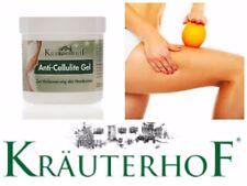 KRAUTERHOF 250 ml Anti Cellulite Gel with Caffeine, Carnitine & Rosemary Extract