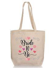 Floral Bride to Be Wedding Gift Tote- Bridesmaid  Wedding Favor