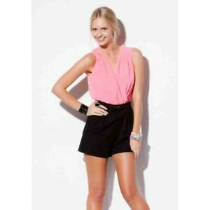 BEBE SYDNEY - Pinot Playsuit (32757 - Pink/Black)