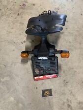 Ducati 748 996 998 Kennzeichen Halter Komplett Inkl. Blinker