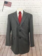 Wilke Rodriguez Men's Grey Wool Two Button Suit 46R Pants 35X28.5 $495