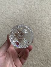 Waterford Crystal Baltimore Orioles Paperweight - Mint