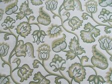 Zoffany Curtain/Upholstery Fabric 'DEERFIELD' 0.5 METRES (50cm) Linden - Woven