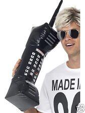 """Robe fantaisie années 80 grand gonflable noir brique mobile téléphone Costume Prop 30 """"BN"""