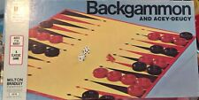 NEW! Milton Bradley 1974 Classic Games Acey Deucy Backgammon - Pieces Sealed!