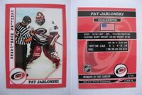 2015 SCA Pat Jablonski Carolina Hurricanes goalie never issued produced #d/10