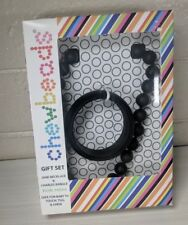 Chewbeads Black Jane Necklace + Charles Bangle Bracelet Combo Set Mom Baby Safe