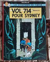 Album : Les aventures de Tintin Vol 714 pour Sydney couverture souple TOTAL