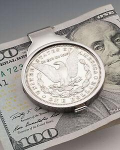 Morgan Dollar Money Clip, American Eagle Money Clip, Mens Gifts, ( # 325SUM )