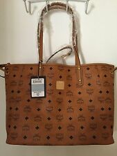 NWT  MCM Tote - Reversible Shopper Jaguar Print