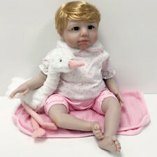 Reborn Realistic Handmade Baby Doll Girl Newborn Lifelike Vinyl Weighted Special