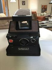 Vintage Polaroid SX-70 Land Camera Model  3, Tested Working, With Leather Kit