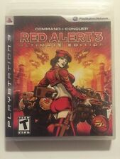 Command & Conquer Red Alert 3 Ultimate Edition Playstation 3 Complete & Sealed