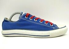 Converse All Star Blue Canvas Casual Lace Up Sneakers Shoes Women's 10