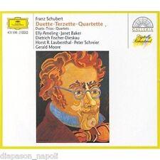 Schubert: Duetti, trii e quartetti / Gerald Moore, Janet Baker, Fischer-Diesk CD