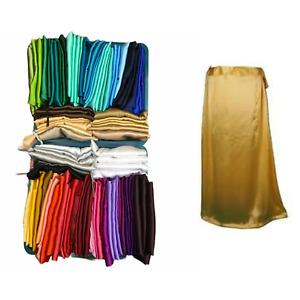 Premium Satin Silk Saree Petticoats / Underskirts, draw srtinged.