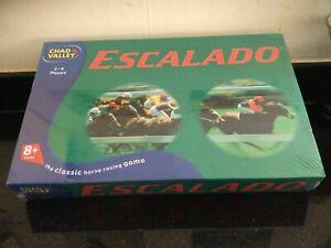 Rare New Escalado Horse Racing Fun Family Board Game Chad Valley BNIB