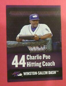 2018 Choice, Winston-Salem Dash, Coach - CHARLIE POE