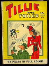 Four Color #22 (Tillie the Toiler) Nice Golden Age Dell Comic 1943 VG-