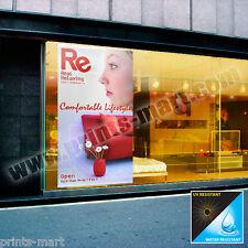 Custom Adhesive Vinyl Sticker Removable Vinyl Signage Storefront Window Sticker