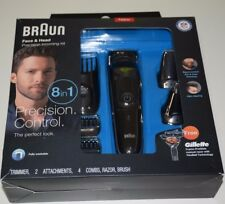 Braun Multi Grooming Kit MGK3060 8 in 1 Beard Hair Trimmer for Men