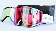2017 NIB ELECTRIC EGX SNOWBOARD GOGGLES $220 Gloss White / Rose / Blue Chrome