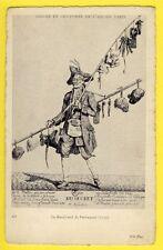 cpa France Gravure PARIS Vieux Métier Le MARCHAND de PERRUQUES en 1770 WEGS