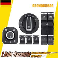 6 Stück Fensterheberschalter Seitenspiegel Schalter Für VW Touran 1T1 1T2 1T3