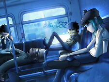 "097 Gorillaz - English Virtual Band Damon Albarn Jamie Hewlett 32""x24"" Poster"
